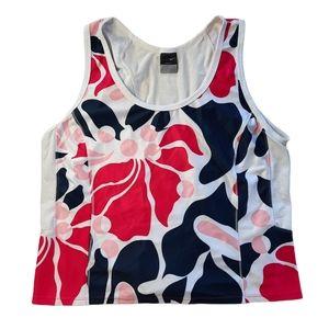 Nike Dri-Fit Floral Print Athletic Tank XL